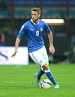 Fussball International  WM Qualifikation 2014   Italien - Daenemark                16.10.2012 Claudio Marchisio (Italien)
