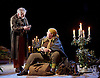 Light Shining in Buckinghamshire <br /> by Caryl Churchill <br /> directed by Lyndsey Turner at the Lyttelton Theatre NT Southbank, London, Great Britain <br /> 22nd April 2015 <br /> <br /> Allan Williams<br /> Ashley McGuire<br /> <br /> <br /> <br /> Photograph by Elliott Franks <br /> Image licensed to Elliott Franks Photography Services
