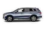 Car Driver side profile view of a 2016 Infiniti QX60 - 5 Door Suv Side View