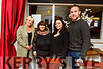 Louise Nash, Norma O'Connor, Claire McKenna and Aaron Daly enjoying the evening out in the Denny Lane on Saturday.