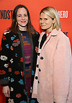 """Maria Dizza and Celia Keenan-Bolger attending the Broadway Opening Night Performance of  """"Lobby Hero"""" at The Hayes Theatre on March 26, 2018 in New York City."""