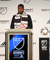 Los Angeles, CA - January 13, 2017: The MLS 2017 SuperDraft being held at the LA Convention Center.