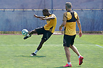 Getafe's Florent Poulolo during training session. May 25,2020.(ALTERPHOTOS/Acero)