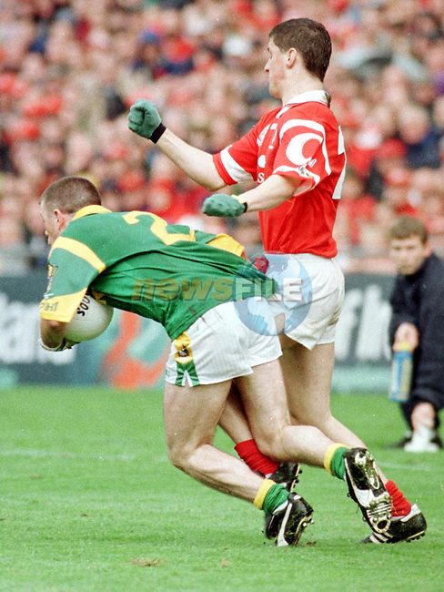 Action from the Meath V Cork match on Sunday..Picture Paul Mohan Newsfile
