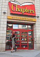 A Chapters bookstore is pictured in Ottawa Saturday September 25, 2010. Chapters is a Canadian big box bookstore banner owned by Indigo Books and Music.