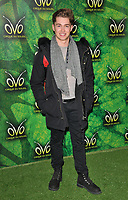 AJ Pritchard at the OVO by Cirque du Soleil press night, Royal Albert Hall, Kensington Gore, London, England, UK, on Wednesday 10 January 2018.<br /> CAP/CAN<br /> &copy;CAN/Capital Pictures