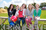Lixnaw vintage Rally: Attending the Lixnaw Vintage Rally on Sunday last were Tara O'Regan, Caoimhe & Aoife Fitzmaurice, Grainne Walsh, Ola Michniewicz & Niamh  Brouder.