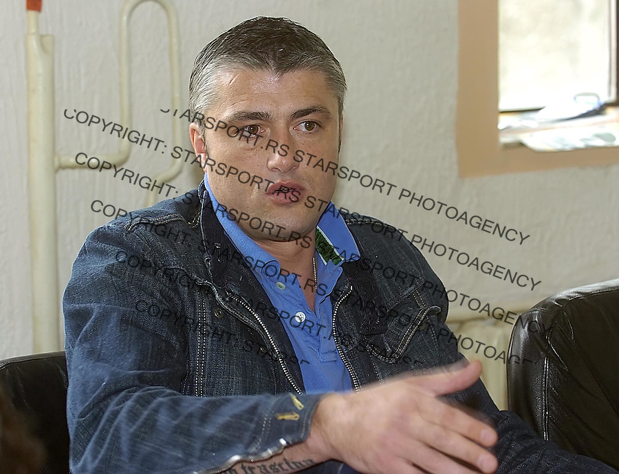 SPORT KAOSARKA PARTIZAN PREDRGA SASA DANILOVIC 6.5.2005. foto: Pedja Milosavljevic<br />
