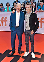"05 September 2019 - Toronto, Ontario Canada - Ron Howard, Brian Grazer. 2019 Toronto International Film Festival - ""Once Were Brothers: Robbie Robertson And The Band"" Premiere held at Roy Thomson Hall. <br /> CAP/ADM/BPC<br /> ©BPC/ADM/Capital Pictures"