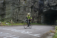 .Race number 256 - Lucie Croissant - - Norseman 2012 - Photo by Justin Mckie Justinmckie@hotmail.com