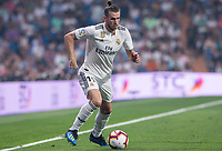 Gareth Bale of Real Madrid during the match between Real Madrid v Cd Leganes of LaLiga, 2018-2019 season, date 3. Santiago Bernabeu Stadium. Madrid, Spain - 1 September 2018. Mandatory credit: Ana Marcos / PRESSINPHOTO