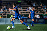 Seattle, Washington - Sunday, June 12, 2016: Seattle Reign FC midfielder Keelin Winters (11) drives to the goal during a regular season National Women's Soccer League (NWSL) match at Memorial Stadium. Seattle won 1-0.