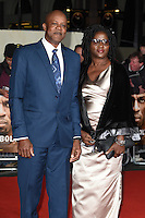 LONDON, UK. November 28, 2016: Wellesley Bolt &amp; Jennifer Bolt (Usain Bolt's parents) at the &quot;I Am Bolt&quot; World Premiere at the Odeon Leicester Square, London.<br /> Picture: Steve Vas/Featureflash/SilverHub 0208 004 5359/ 07711 972644 Editors@silverhubmedia.com