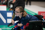 Evie Edwards (GBR)<br /> BISFed 2018 World Boccia Championships <br /> Exhibition Centre Liverpool<br /> 17.08.18<br /> &copy;Steve Pope<br /> Sportingwales