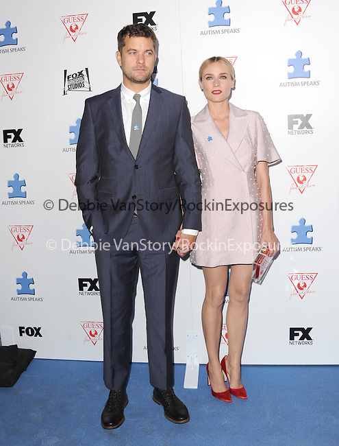 Diane Kruger and Joshua Jackson attends The Autism Speaks 3rd Annual Blue Jean Ball held at Boulevard 3 in Hollywood, California on October 24,2012                                                                               © 2013 Hollywood Press Agency