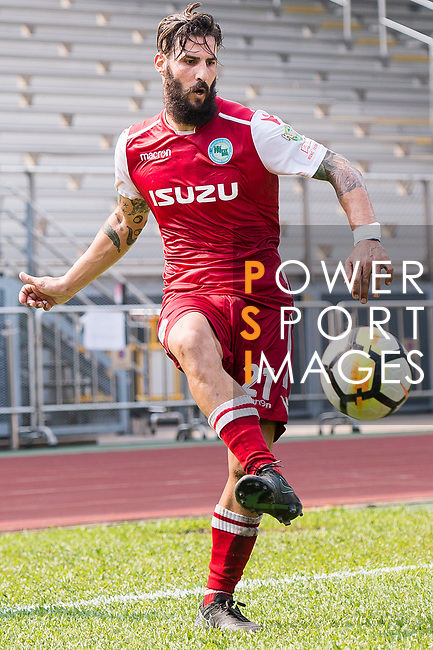 Marcos De La Espada of Kwoon Chung Southern in action during the week three Premier League match between Kwoon Chung Southern and R&F at Aberdeen Sports Ground on September 16, 2017 in Hong Kong, China. Photo by Marcio Rodrigo Machado / Power Sport Images