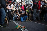 SAO PAULO, SP, 07.09.2013 - Manifestação na tarde deste sabado(07), na Av. Paulista em São Paulo marca o sete de setembro. (Foto: Amauri Nehn / Brazil Photo Press).