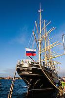 Norway, Stavanger. Tall Ships Race in Stavanger 2011. Kruzenshtern.