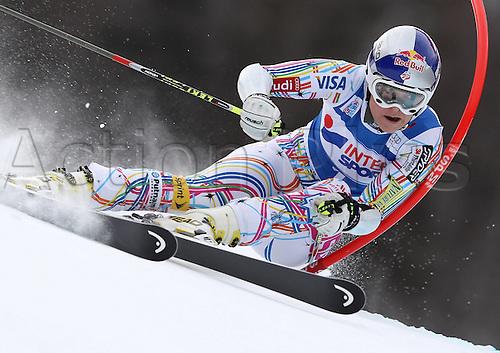21.01.2012. Ski Alpine FIS WC Kranjska Gora RTL women  Ski Alpine FIS World Cup Giant slalom for women Picture shows Lindsey Vonn USA