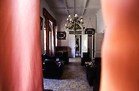 SIRIA Aleppo ,Hotel Baron, salotto