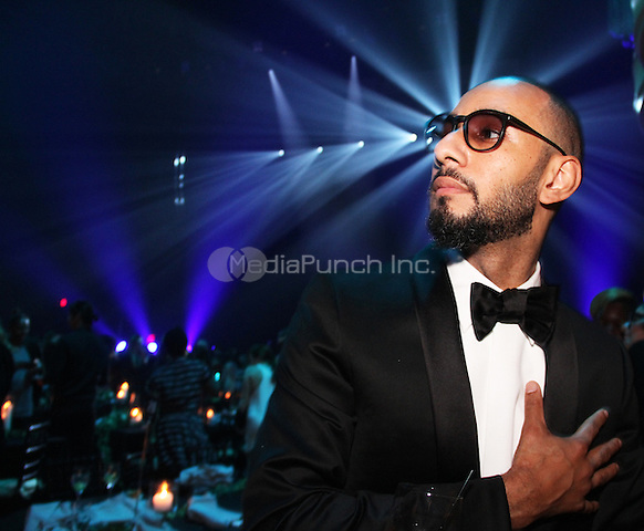 NEW YORK, NY - OCTOBER 30: Swizz Beatz attends the Keep A Child Alive 11th Annual Black Ball at the Hammerstein Ballroom, October 30th 2014 in New York City. Credit: Walik Goshorn/MediaPunch