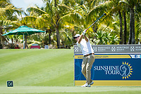 Nicolas Colsaerts (BEL) during the 3rd round of the AfrAsia Bank Mauritius Open, Four Seasons Golf Club Mauritius at Anahita, Beau Champ, Mauritius. 01/12/2018<br /> Picture: Golffile | Mark Sampson<br /> <br /> <br /> All photo usage must carry mandatory copyright credit (&copy; Golffile | Mark Sampson)