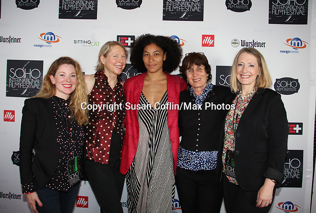 Cady McClain, Kate Kernochan, Naima Ramos-Chapman, Anne Makepeace, Kate Super -    Seeing is Believing: Women Direct at its East Coast Premiere at Soho International Film Festival on June 19, 2017 in New York City, New York.(Photos by Sue Coflin/Max Photos)