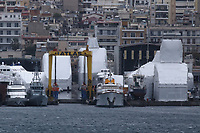 2019 01 03 Border Control vessels DM, Greece