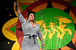 Jill Scott performs during the New Orleans Jazz & Heritage Festival in New Orleans, LA.