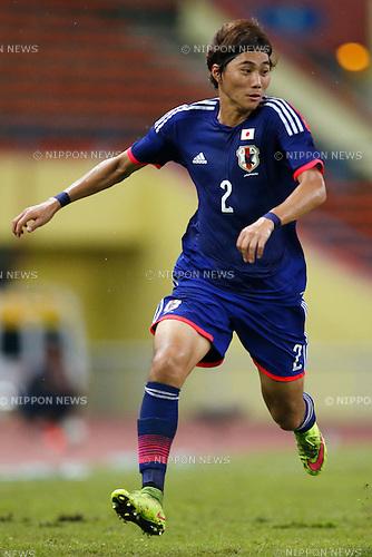 Ken Matsubara (JPN), MARCH 29, 2015 - Football / Soccer : AFC U-23 Championship 2016 Qualification Group I match between U-22 Japan 2-0 U-22 Vietnam at Shah Alam Stadium in Shah Alam, Malaysia. (Photo by Sho Tamura/AFLO SPORT)