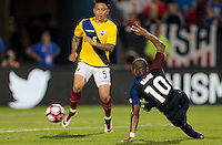 Frisco, TX. - May 25, 2016: The U.S. Men's national team defeat Ecuador 1-0 from a goal late in the game by Darlington Nagbe in an international friendly match at Toyota Stadium.