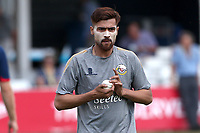 Mohammad Amir of Essex warms up at lunch during Essex CCC vs Warwickshire CCC, Specsavers County Championship Division 1 Cricket at The Cloudfm County Ground on 16th July 2019