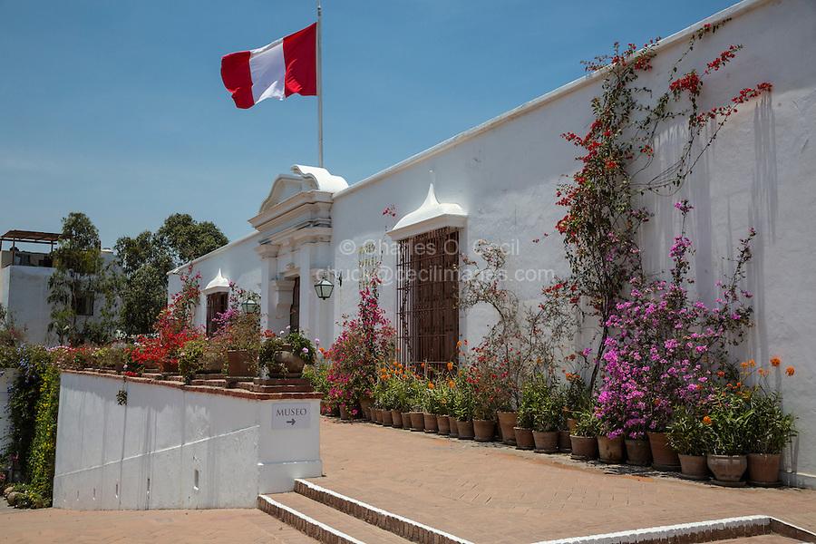 Lima, Peru.  Larco Museum (Museo Larco).