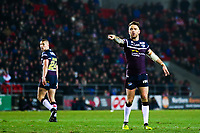 Picture by Alex Whitehead/SWpix.com - 16/03/2018 - Rugby League - Betfred Super League - St Helens v Leeds Rhinos - Totally Wicked Stadium, St Helens, England - Leeds' Richie Myler.