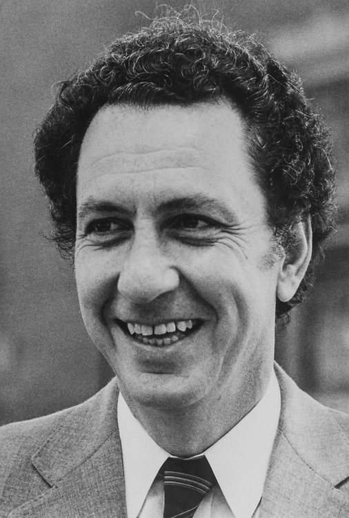 Close-up of Sen. Arlen Specter, R-Pa., on Aug. 11, 1983. (Photo by CQ Roll Call via Getty Images)
