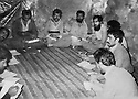 Iraq 1984. In Ahmed Awa, the office of the Kurdistan Socialist Democratic party .Irak 1984 .A Ahmed Awa, le bureau du parti socialiste democratique du Kurdistan