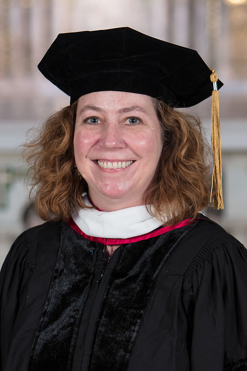 DePaul College of Liberal Arts and Social Sciences faculty Julie Artis was promoted during DePaul's annual Academic Convocation at the St. Vincent de Paul Parish Church Thursday, Aug. 31, 2017. (DePaul University/Jeff Carrion)