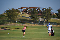 Gerina Piller (USA) hits her approach shot on 1 during the round 3 of the Volunteers of America Texas Classic, the Old American Golf Club, The Colony, Texas, USA. 10/5/2019.<br /> Picture: Golffile   Ken Murray<br /> <br /> <br /> All photo usage must carry mandatory copyright credit (© Golffile   Ken Murray)