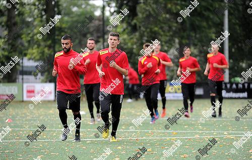 2015-07-08 / Voetbal / seizoen 2015-2016 / Eerste training FC Kapellen / <br /><br />Foto: Mpics.be