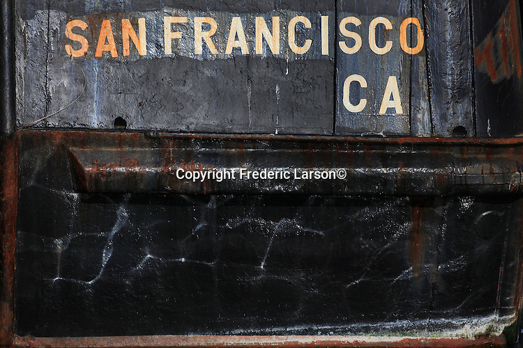 Scenes from Fisherman Wharf docks in San Francisco, California.