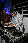 DJ TJ Mizell Rockin The Angela Simmons I Am Presentation Powered Monster at 404 During Mercedes-Benz Fashion Week Fall 2014 NY