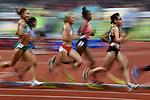 €Yuka Hori (JPN), Ambience shot, <br /> AUGUST 25, 2018 - Athletics : Women's 10000m Final at Gelora Bung Karno Main Stadium during the 2018 Jakarta Palembang Asian Games in Jakarta, Indonesia. <br /> (Photo by MATSUO.K/AFLO SPORT)