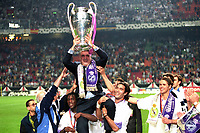 21st March 2020,  Lorenzo Sanz, ex Owner of Malaga FC and ex_President of Real Madrid has passed away in Madrid after contacting Covid-19 (Corona Virus) reported his family. Seen during the Champions League final 1998