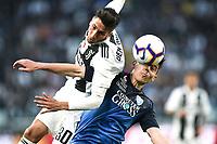 Rodrigo Bentancur of Juventus , Cristian Dell'Orco of Empoli  <br /> Torino 30-03-2019 Allianz Stadium <br /> Football Serie A 2018/2019 Juventus - Empoli <br /> Photo  Daniele Buffa / Image Sport / Insidefoto