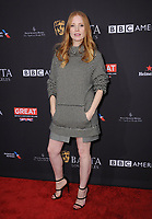 06 January 2018 - Beverly Hills, California - Jessica Chastain. 2018 BAFTA Tea Party held at The Four Seasons Los Angeles at Beverly Hills in Beverly Hills. <br /> CAP/ADM/BT<br /> &copy;BT/ADM/Capital Pictures