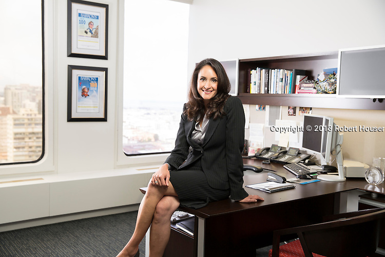 Portrait of Elaine Meyers, Managing Director, Private Banking - Credit Suisse