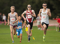 Stanford- November 14, 2014: Cameron Miller during NCAA West Regional cross country championship at Stanford Golf Course on Friday..