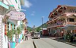 Buildings and Street - Grenada