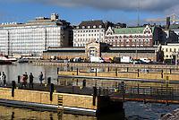 Alte Markthalle Wanhakaupahalli am Südhafen, Helsinki, Finnland