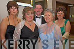 Pictured at the Kingdom Hunt ball in the Killarney Oaks on Saturday night were Josephine Moriarty, Mary Nagle, Philip Moriarty, Mary McGann and Kathleen Morris......